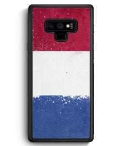 Samsung Galaxy Note 9 Hülle Silikon - Niederlande Holland Grunge Netherlands