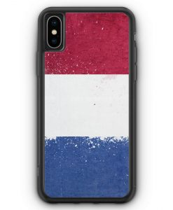 iPhone XS Max Silikon Hülle - Niederlande Holland Grunge Netherlands