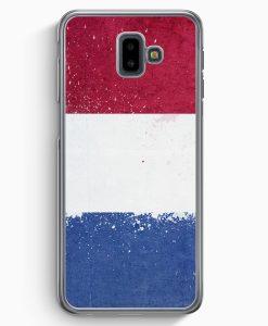 Samsung Galaxy J6+ Plus (2018) Hardcase Hülle - Niederlande Holland Grunge Netherlands