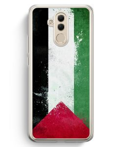 Huawei Mate 20 Lite Hardcase Hülle - Palästina Grunge Palestina