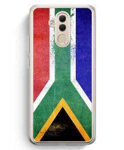 Huawei Mate 20 Lite Hardcase Hülle - Südafrika Grunge South Africa