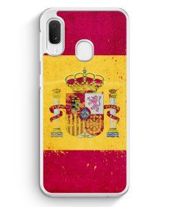 Samsung Galaxy A20e Hardcase Hülle - Spanien Grunge Espana Spain