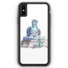 iPhone XS Max Silikon Hülle - Amida Buddha