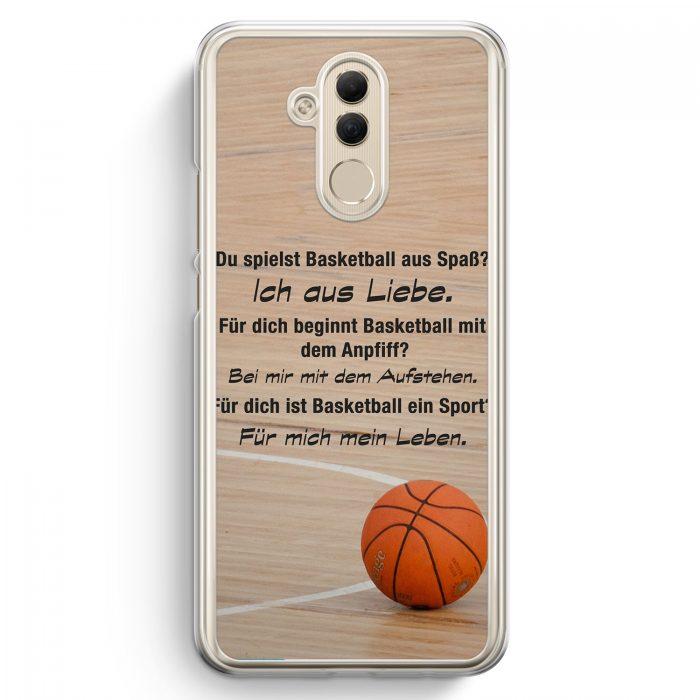 Huawei Mate 20 Lite Hardcase Hülle - Basketball Liebe