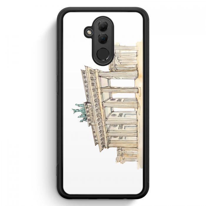 Huawei Mate 20 Lite Silikon Hülle - Brandenburger Tor