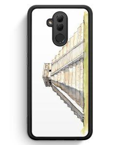 Huawei Mate 20 Lite Silikon Hülle - El Castillo Kukulcan