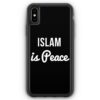 iPhone XS Max Silikon Hülle - Islam Is Peace
