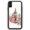 iPhone XS Max Silikon Hülle - Kremlin Palast