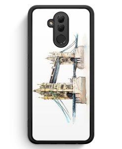 Huawei Mate 20 Lite Silikon Hülle - London Bridge