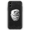 iPhone XS Max Silikon Hülle - Nah Frecher Finger