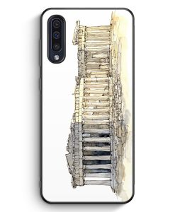 Samsung Galaxy A50 Silikon Hülle - Akropolis Athen