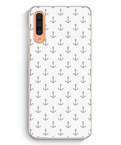 Samsung Galaxy A50 Hardcase Hülle - Anker Muster