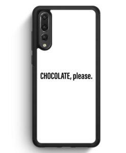 Huawei P20 Pro Hülle Silikon - Chocolate Please WT
