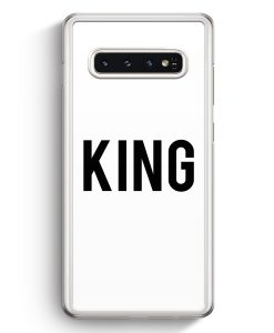 Samsung Galaxy S10+ Plus Hardcase Hülle - King WT