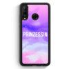 Huawei P30 Lite Silikon Hülle - Prinzessin Galaxy Nebula WT
