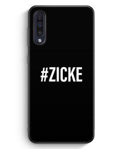 Samsung Galaxy A50 Silikon Hülle - #ZICKE BK