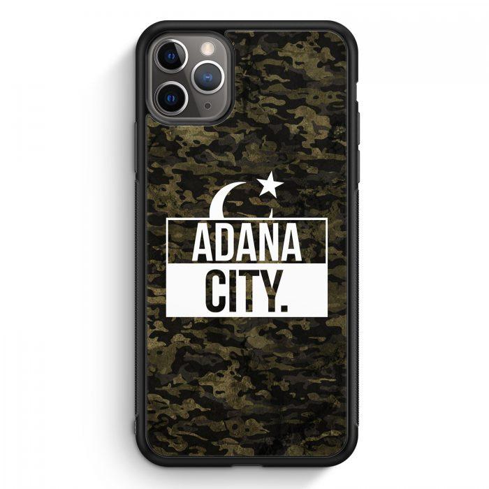 iPhone 11 Pro Max Silikon Hülle - Adana City Camouflage