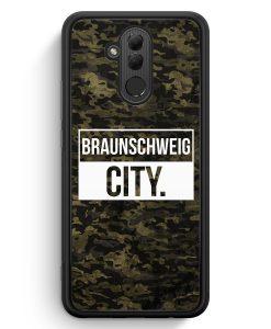 Huawei Mate 20 Lite Silikon Hülle - Braunschweig City Camouflage
