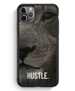 iPhone 11 Pro Silikon Hülle - Hustle. Löwe Motivation
