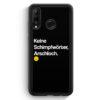 Huawei P30 Lite Silikon Hülle - Keine Schimpfwörter
