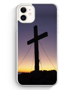 iPhone 11 Hardcase Hülle - Kreuz Foto