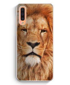 Samsung Galaxy A50 Hardcase Hülle - Löwe Kopf Foto