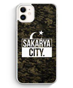 iPhone 11 Hardcase Hülle - Sakarya City Camouflage