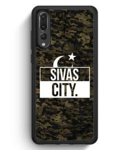 Huawei P20 Pro Hülle Silikon - Sivas City Camouflage
