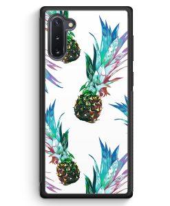 Samsung Galaxy Note 10 Silikon Hülle - Ananas Tropical Blau Grün