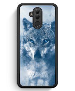 Huawei Mate 20 Lite Silikon Hülle - Wolf Foto