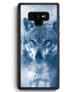 Samsung Galaxy Note 9 Hülle Silikon - Wolf Foto