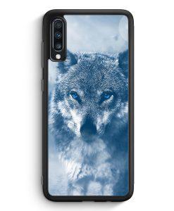 Samsung Galaxy A40 Silikon Hülle - Wolf Foto