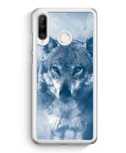 Huawei P30 Lite Hardcase Hülle - Wolf Foto