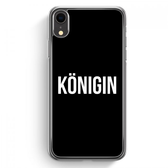 iPhone XR Hardcase Hülle - Königin BK