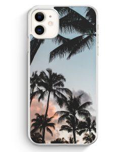 iPhone 11 Hardcase Hülle - Palmen Landschaft Tropical
