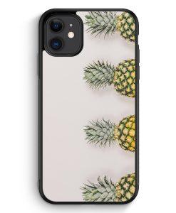 iPhone 11 Silikon Hülle - Ananas Foto Tropical