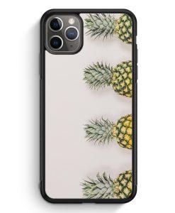 iPhone 11 Pro Max Silikon Hülle - Ananas Foto Tropical