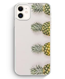iPhone 11 Hardcase Hülle - Ananas Foto Tropical