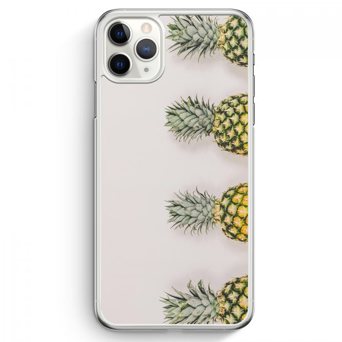 iPhone 11 Pro Max Hardcase Hülle - Ananas Foto Tropical