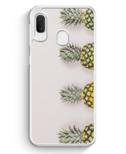 Samsung Galaxy A20e Hardcase Hülle - Ananas Foto Tropical