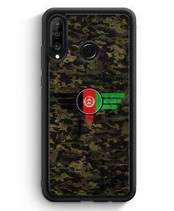 Huawei P30 Lite Silikon Hülle - Afghanistan Camouflage