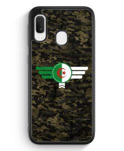 Samsung Galaxy A20e Silikon Hülle - Algerien Algeria Camouflage