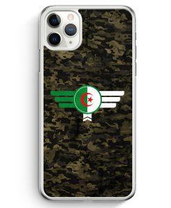 iPhone 11 Pro Max Hardcase Hülle - Algerien Algeria Camouflage