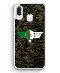 Samsung Galaxy A20e Hardcase Hülle - Algerien Algeria Camouflage