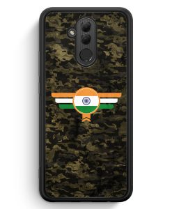 Huawei Mate 20 Lite Silikon Hülle - India Indien Camouflage