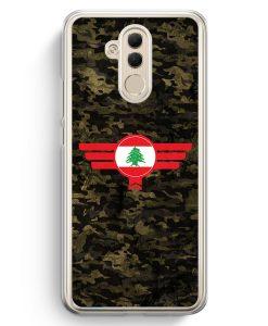 Huawei Mate 20 Lite Hardcase Hülle - Libanon Lebanon Camouflage