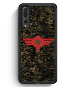 Huawei P20 Pro Hülle Silikon - Marokko Morocco Camouflage