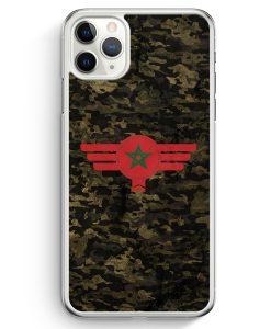 iPhone 11 Pro Max Hardcase Hülle - Marokko Morocco Camouflage