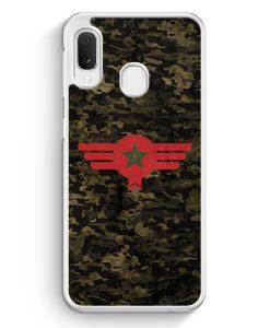 Samsung Galaxy A20e Hardcase Hülle - Marokko Morocco Camouflage