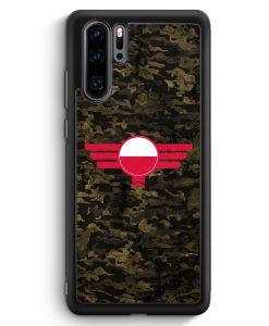 Huawei P30 Pro Silikon Hülle - Polska Polen Camouflage